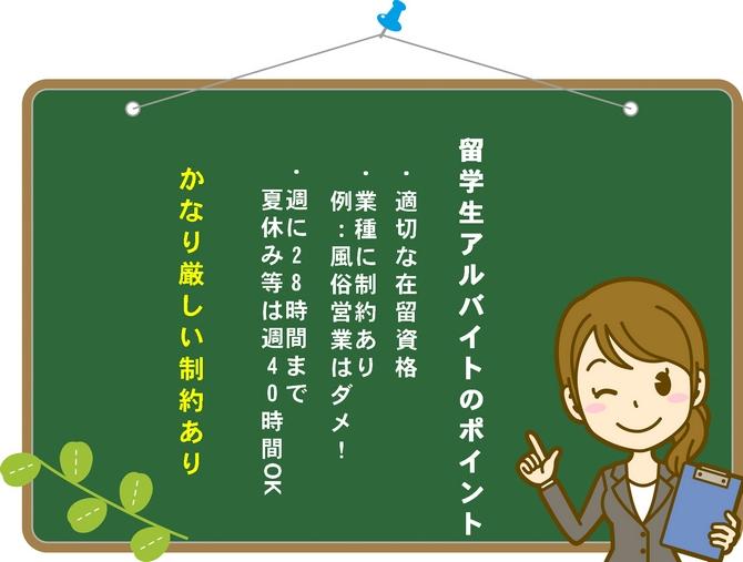 留学生アルバイトの雇用ルール